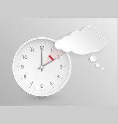 Clock do not forget to fall back vector