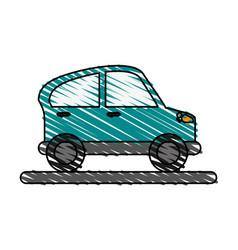 Car doodle vector