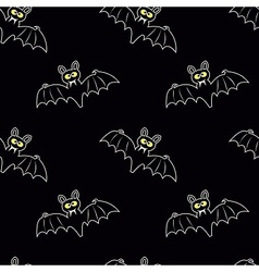 Funny bats vector image