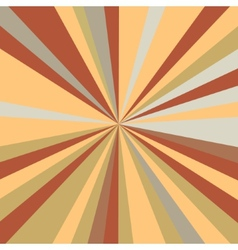 Retro rays background vector