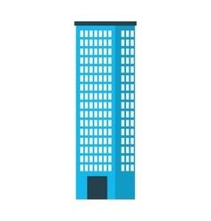 Building construction silhouette icon vector