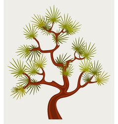 Fantastic pine tree vector