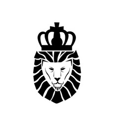 Lion face logo vector