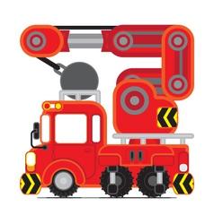 Redscue car05 vector