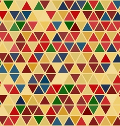 Seamless retro abstract pattern vector image
