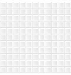 white tile wall vector image vector image