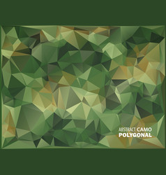 army military camouflage background made of vector image