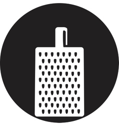 grater for vegetables and fruits icon vector image vector image