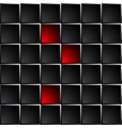 Industrial and technological dark background vector image vector image