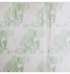 Vintage of a koala bear pattern on the old vector