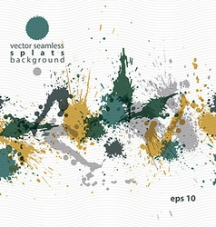 Colorful splattered web design repeat pattern art vector