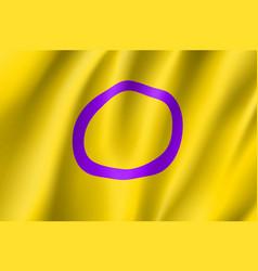 Intersexual symbol people vector