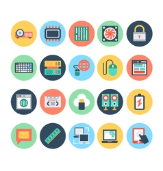 Technology and hardware icons 4 vector