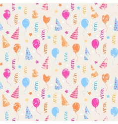 Happy birthday grunge pattern vector