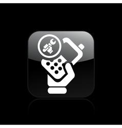 phone repair icon vector image