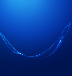 Abstract lines blue background vector
