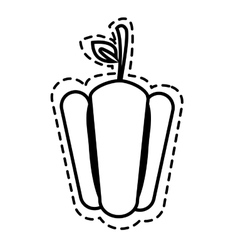 Delicious and fresh vegetable vector