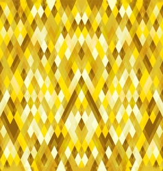Abstract geometric gold polygon pattern background vector