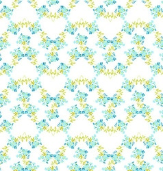 Floral pattern with forget-me-not flowers vector