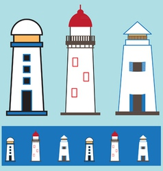Light house icon 002 vector
