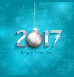 New year bauble background 1610 vector