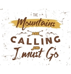 Outdoor inspiration background Motivation vector image