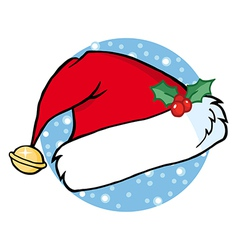 Santas Hat vector image vector image