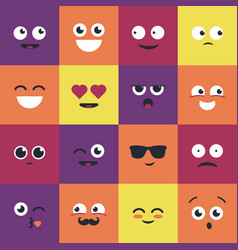 Smiley - modern set of emoji vector