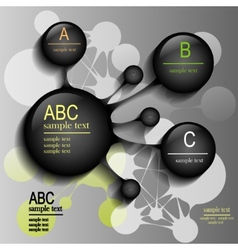 infographics for design vector image