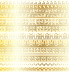 Gold fretwork borders vector