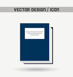 Book icon design vector