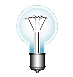 Electric lamp vector