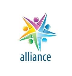 Human alliance logo vector