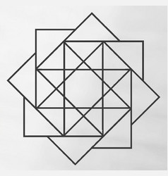 square array vector image vector image