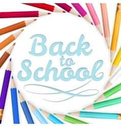 Back to school template eps 10 vector