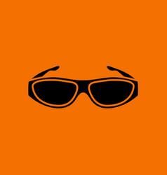 poker sunglasses icon vector image