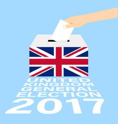 United kingdom general election 2017 vector