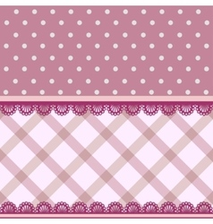 Fabric background vector