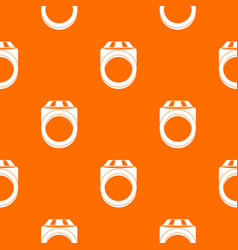 Ring pattern seamless vector