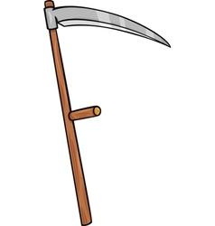 Scythe clip art cartoon vector