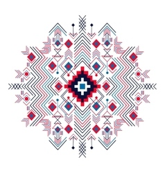 Tribal ethnic background for your use vector image vector image