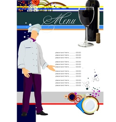 Restaurant menu 001 vector