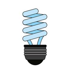 fluorescent lamp vector image