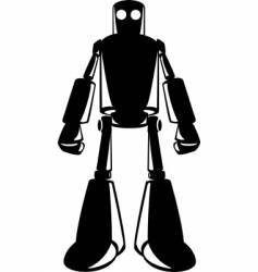 Looming robot vector