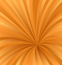 Orange color abstract burst design background vector