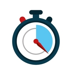 Stopwatch fast delivery symbol vector