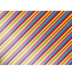 Abstract background with colored bright stripes vector