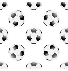 Universal football seamless patterns tiling vector image