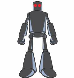 Looming robot-color vector