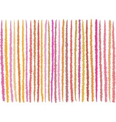 Irregular orange pink lines pattern over white vector